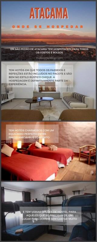 Dicas de Hospedagem no Atacama   Malas e Panelas
