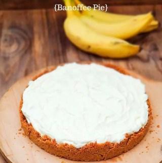 Receita de torta Banofee