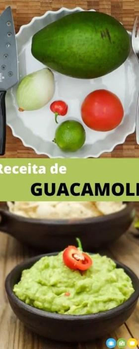 Receita de Guacamole | Malas e Panelas
