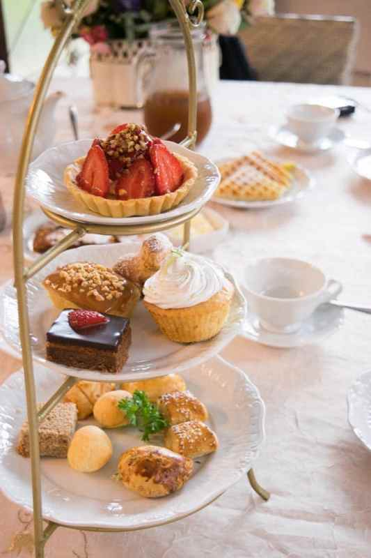 Chá da Tarde no Hotel Rita Höppner