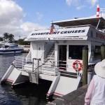 Riverfront Cruises {Passeio de Barco em Fort Lauderdale}