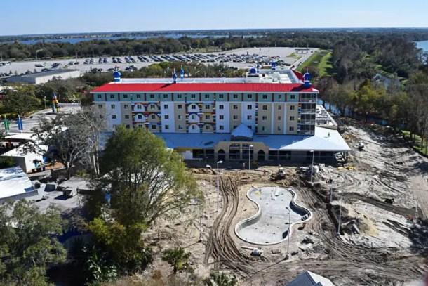 Legoland Hotel em construção
