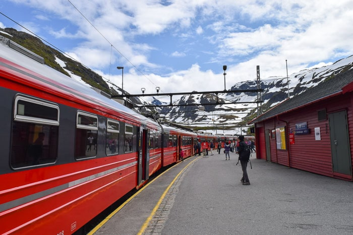 Trem entre Bergen e Oslo