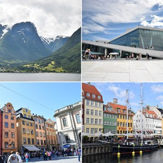 Quanto custa uma viagem para a Escandinávia
