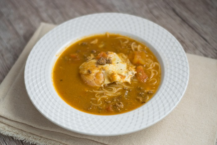 Peruvian Creole Soup (Sopa Criolla) | Travel Cook Tell