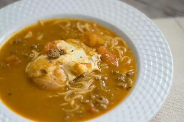sopa crioula peruana