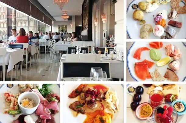 Smorgasbord Grand Hotel Estocolmo