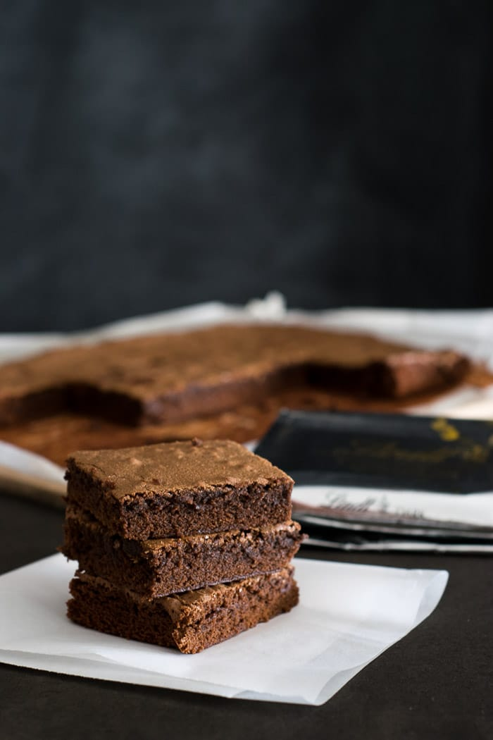 Receita de Brownies da confeitaria Baked, no Brooklyn