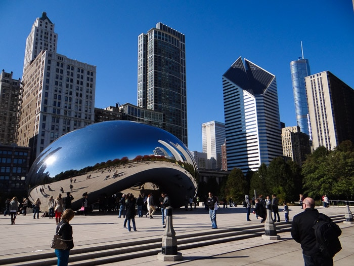 Chicago The Bean - Cloud Gate (6)
