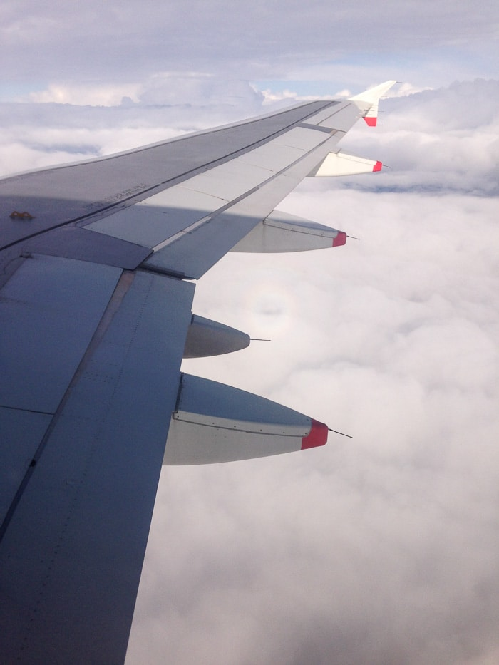 Chegando na Noruega