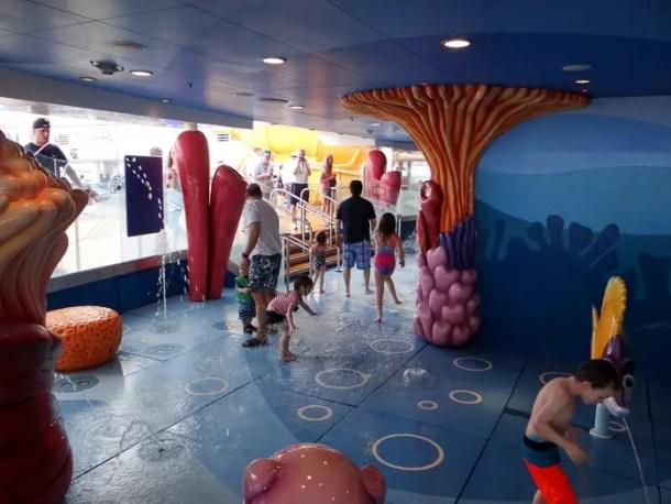 Área exclusiva para crianças de até 7 anos