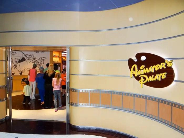Restaurante Animator's Palate