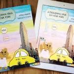 """Promoção de Verão do livro """"A Esquilinha Nina em Nova York"""""""