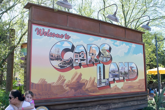 Disney California - Cars Land