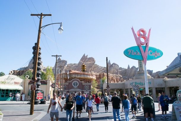 Disney California - Cars Land