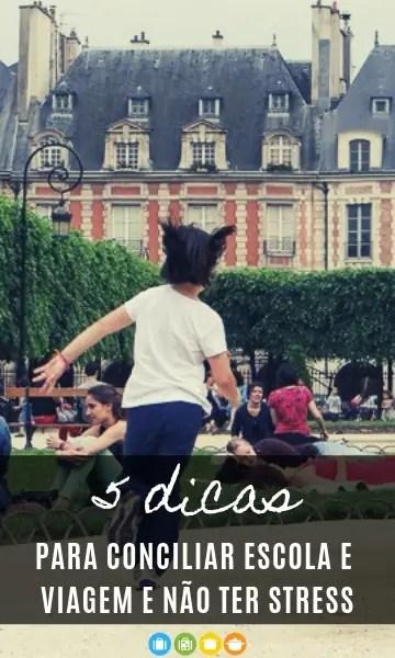5 dicas para conciliar escola e viagem e não ter stress   Malas e Panelas