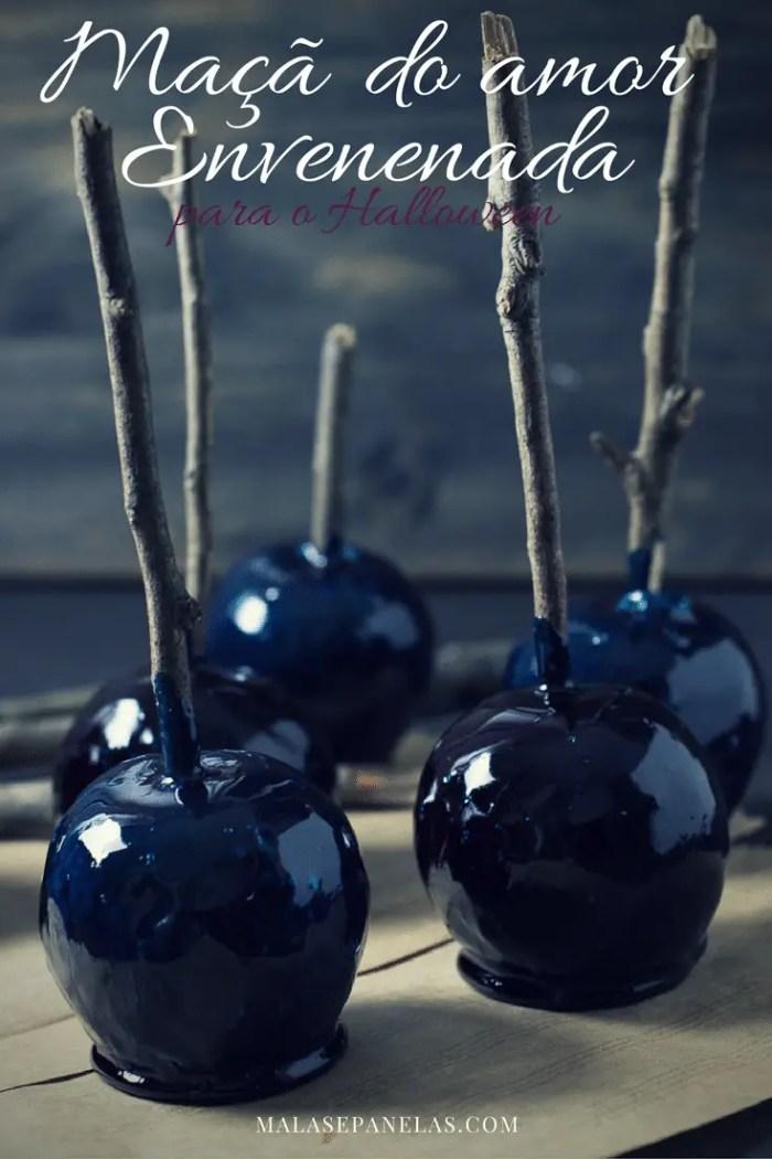 Maçã do Amor Envenenada para o Halloween | Malas e Panelas