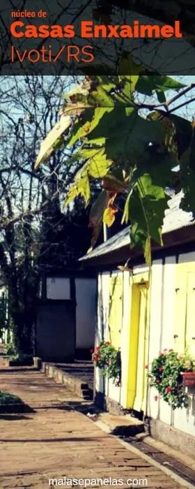 Núcleo da Casas Enxaimel em Ivoti/RS | Malas e Panelas