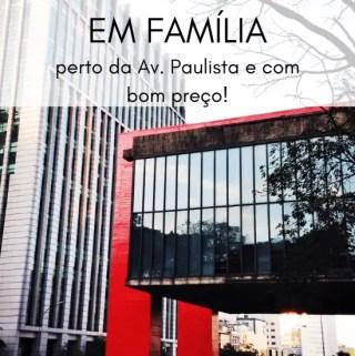 Hospedagem em São Paulo em Família | Malas e Panelas