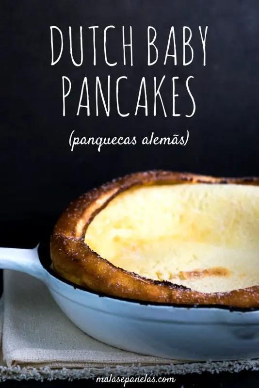 Dutch Baby Pancakes - Panquecas Alemãs - Malas e Panelas