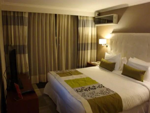 Hotel em Santiago no Chile | Malas e Panelas