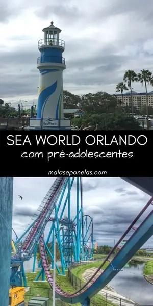 SeaWorld Orlando com pré-adolescentes | Malas e Panelas
