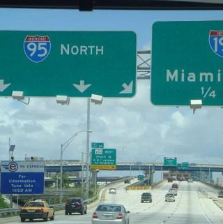 De Miami a Orlando sem pedágio e com outlet