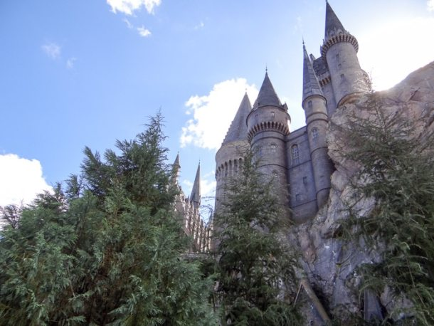 Castelo de Hogwarts na Universal Orlando