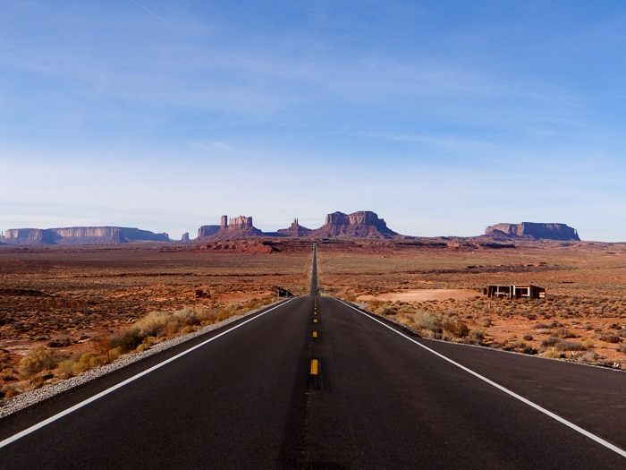 Forrest Gump Point - Monument Valley