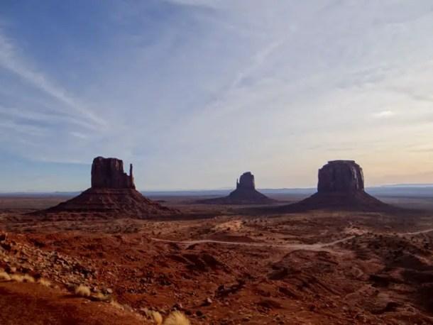 Monument Valley pela manhã