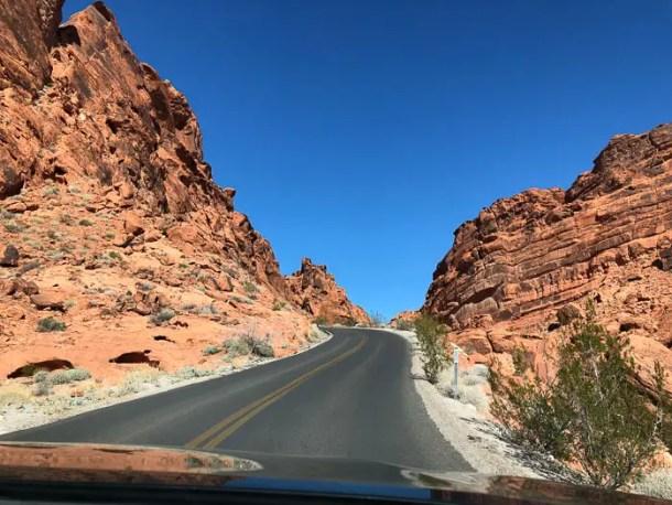 Estrada Valley Of Fire Nevada