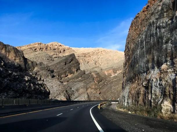 Estrada de Las Vegas a Springdale