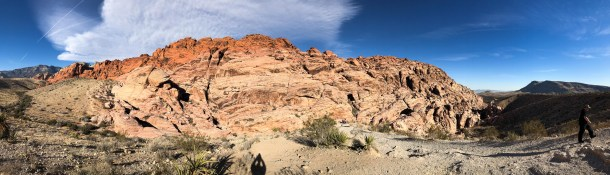 Panorâmica do Red Rock Canyon