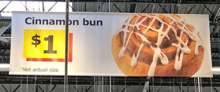 Cinammon Bun da Ikea