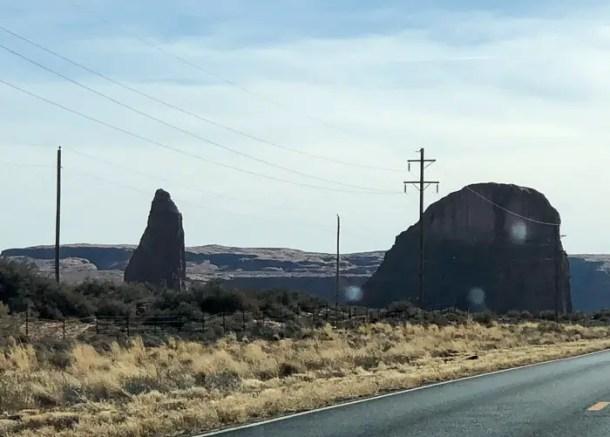 viagem de carro pelo sudoeste americano