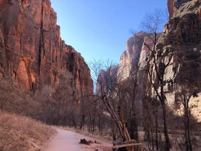 Parque nacional de Zion em Utah