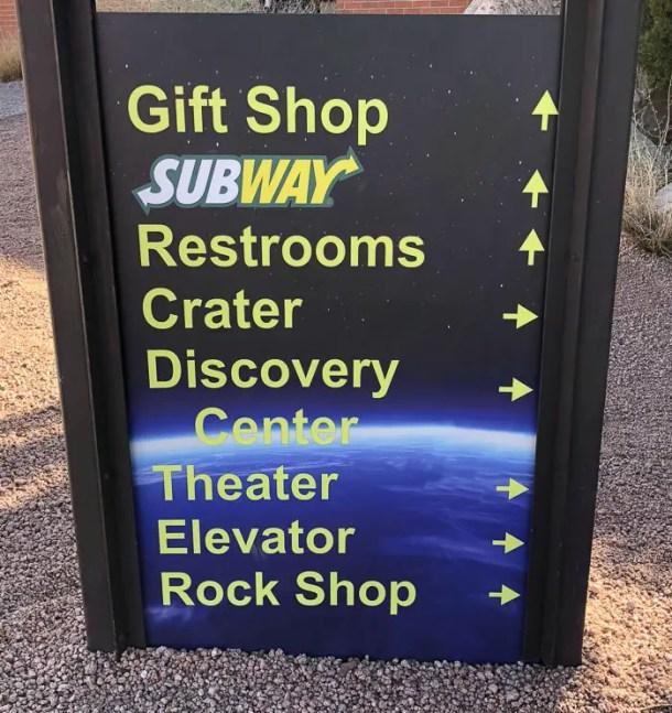 Centro de Visitantes de Meteor Crater