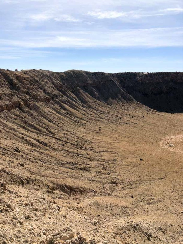 Meteor Crater - Cratera do Meteoro - Arizona