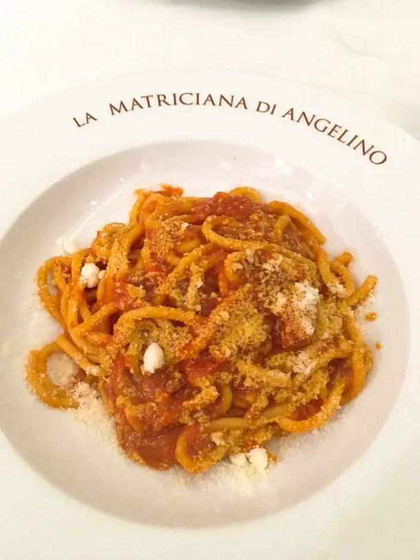 Matriciana - Angelino ai Fori dal 1947 (3)