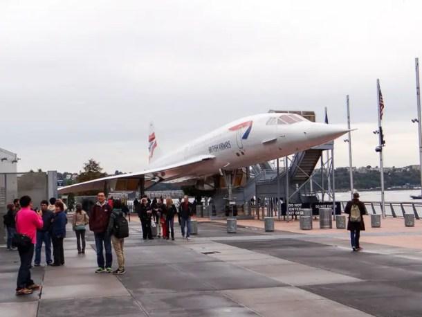 Concorde no Intrepid Sea, Air and Space Museum
