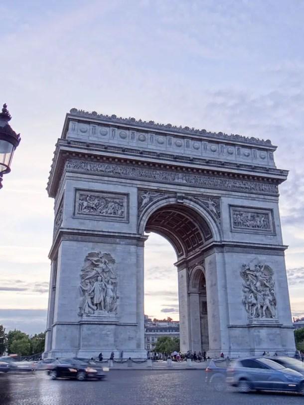 16 Lugares para Visitar em Paris | Arc de Triomph | Malas e Panelas