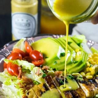 Salada de Frango e Abacate com Molho de Mostarda e Mel | Malas e Panelas