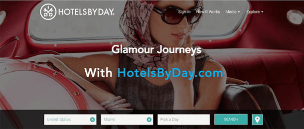 HotelsByDay - reservas de hotéis para uso por horas
