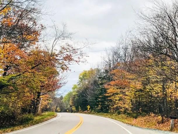 Estrada em New Hampshire