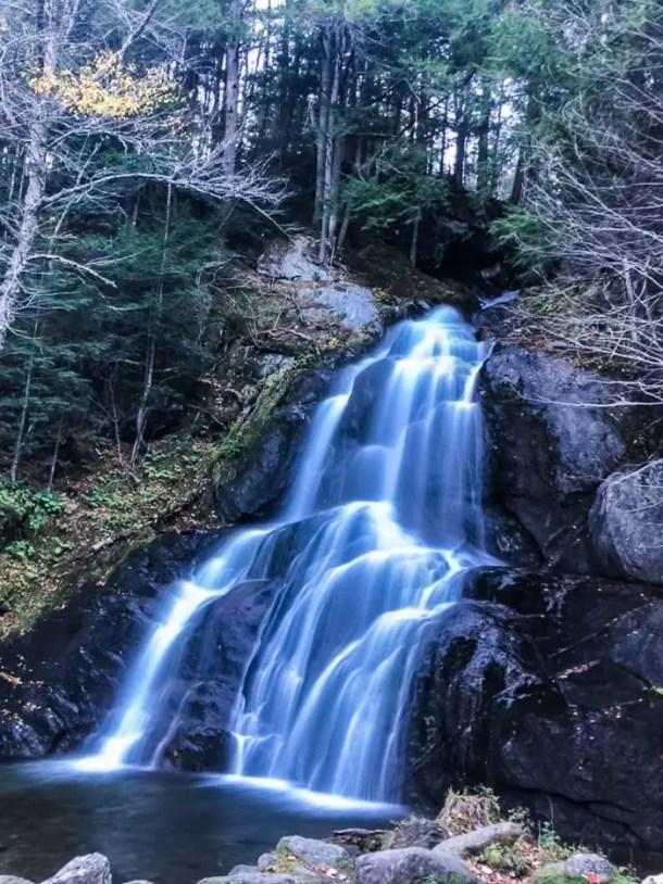 Cachoeira em Granville Vermont