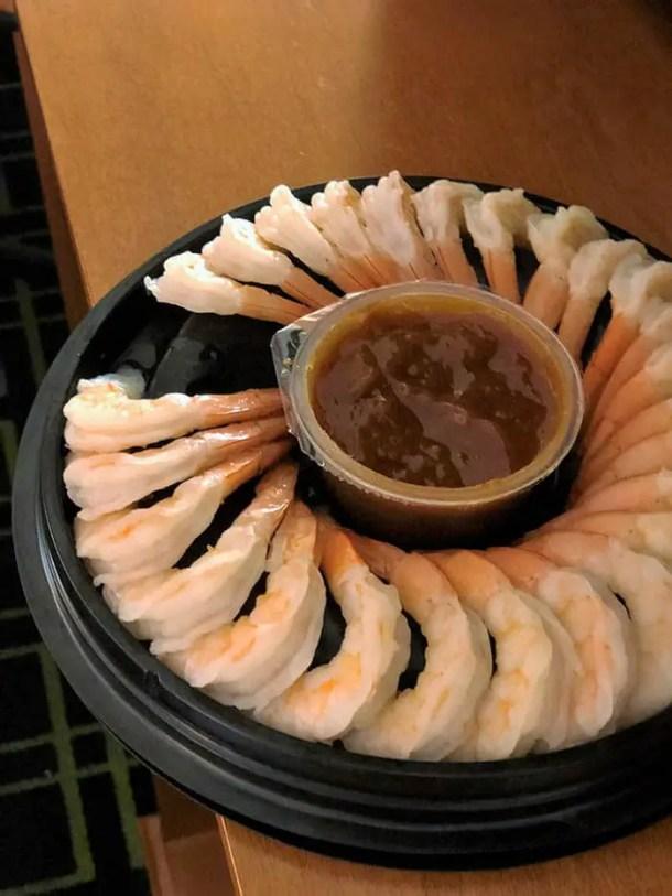 coquetel camarão supermercado