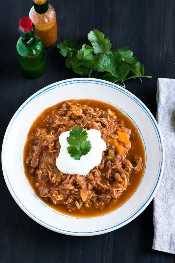 Chili de Frango (Chicken Chili) | Malas e Panelas