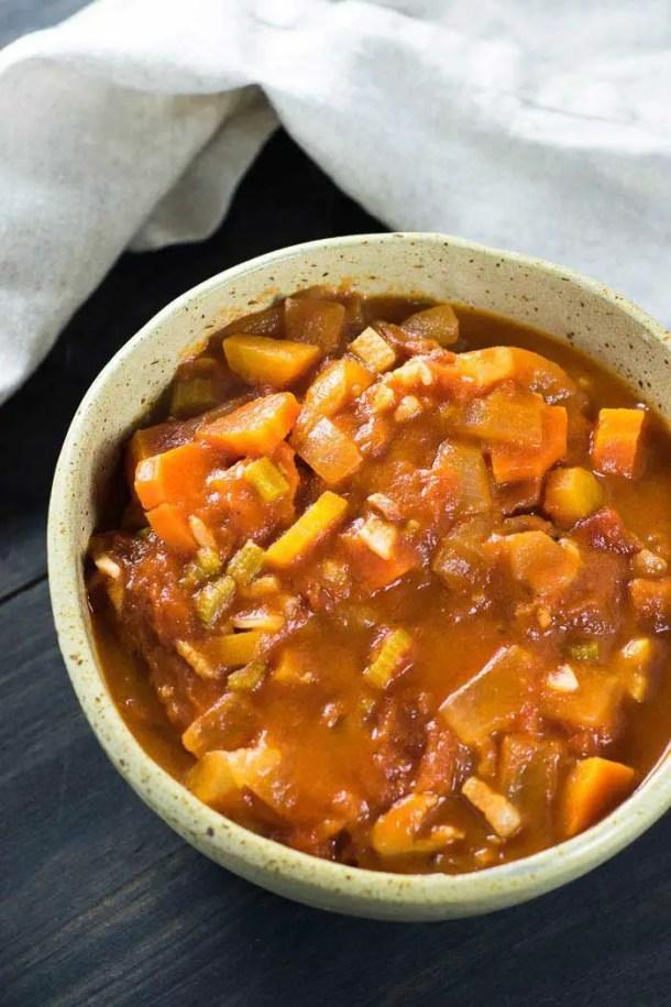 Sopa de Tomate Rústica | Malas e Panelas