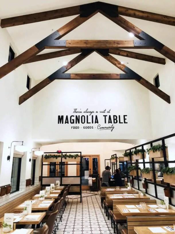 Restaurante Magnolia Table, em Waco