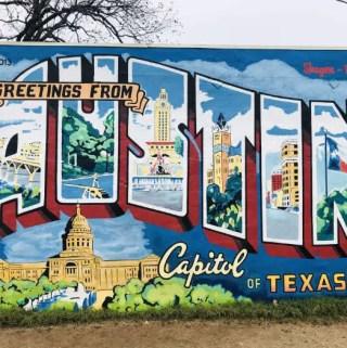 Mural Greetings from Austin